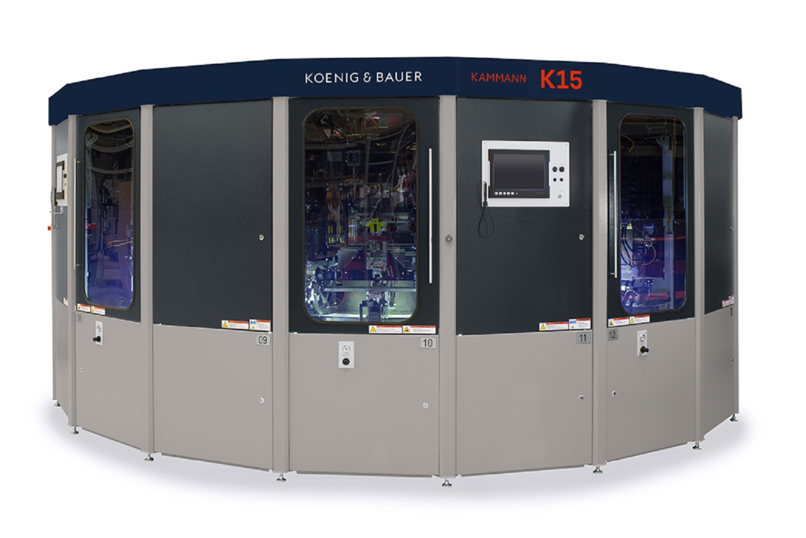 Machines for container/ label printing